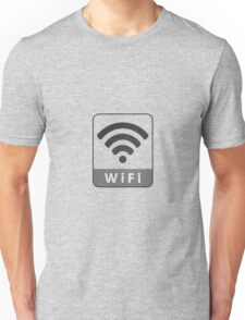 Knitted look wifi sign Unisex T-Shirt