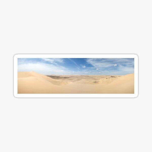 The vast dunes of Ica, Peru Sticker