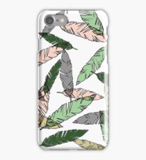 Colored Feather Print iPhone Case/Skin
