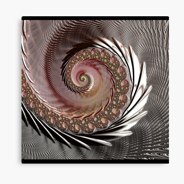 FRACTAL ART, spun glass look, 3D Canvas Print