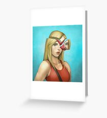 Pamelo Greeting Card