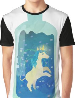 Unicorn in the bottle Graphic T-Shirt