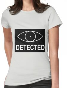 Skyrim - Detected Indicator Womens Fitted T-Shirt