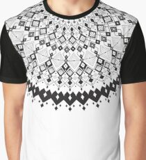 Geometric Sun Graphic T-Shirt