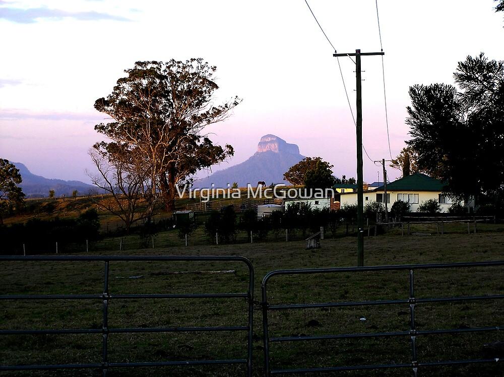 Farm, evening time. by Virginia McGowan