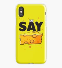 say cheese :D iPhone Case