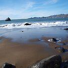 Wet Beach by photoartful