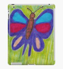 Oil Pastel Butterfly iPad Case/Skin