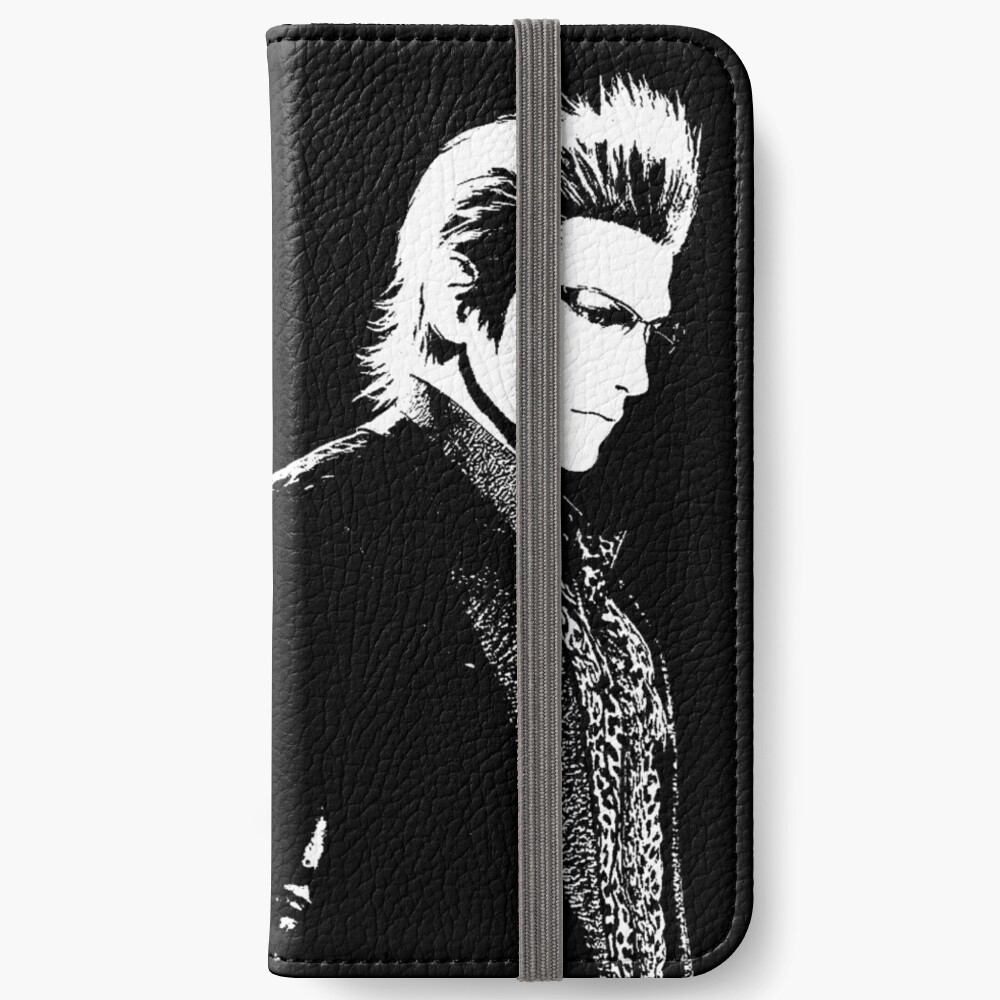 Verwittertes Ignis Final Fantasy XV iPhone Flip-Case