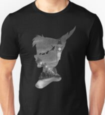 Peter Pan Over London  T-Shirt