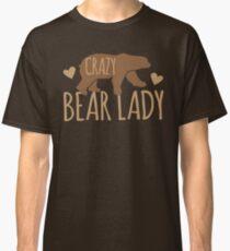 Crazy Bear lady Classic T-Shirt