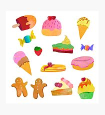 Tasty sweets  Photographic Print