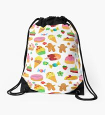 Tasty sweets  Drawstring Bag