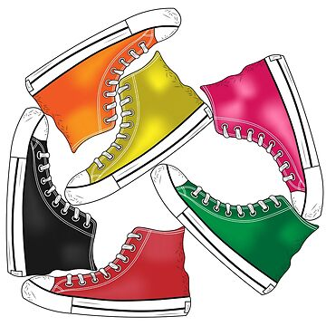 Convers Shoes Colorful by Fmgt
