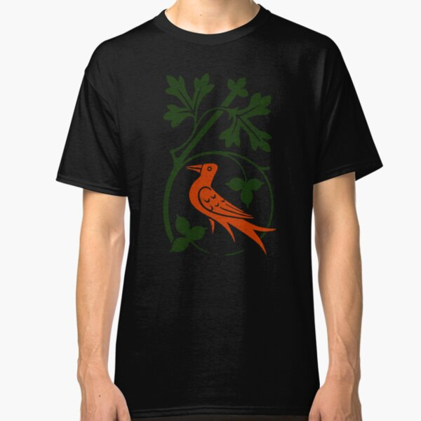 Woodcut birds Classic T-Shirt
