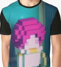 Jester Voxel Graphic T-Shirt
