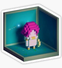 Jester Voxel Sticker