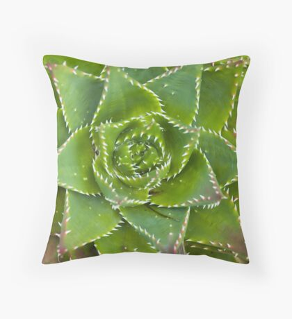 Man-Eater Throw Pillow