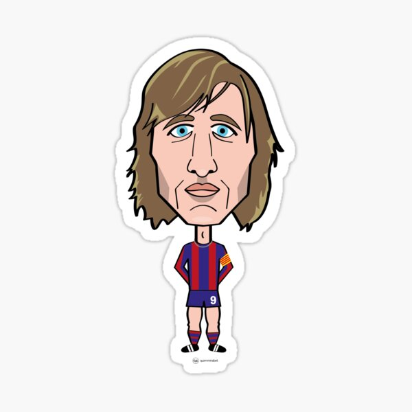 Johan Cruyff FCB - Barça Pegatina