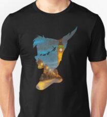 Peter Pan Over London  Unisex T-Shirt