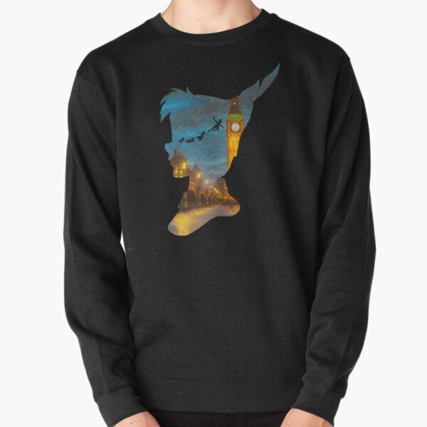 Peter Pan Over London  Pullover Sweatshirt