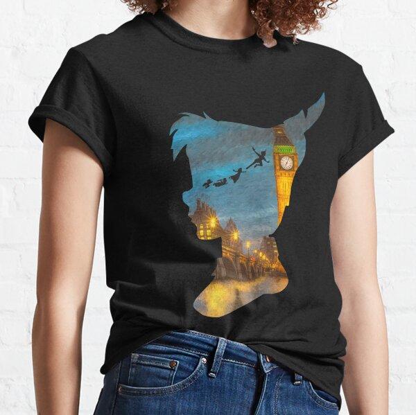 Peter Pan Over London  Classic T-Shirt