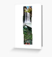 Hopetoun Falls - Nov 2007 Greeting Card