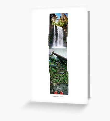 Hopetoun Falls - Nov 2007 Greeting Card