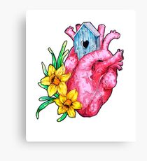 Spring is in the heart Canvas Print