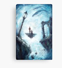The Void - Dishonored Canvas Print