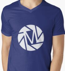 Mike's Big Picture Men's V-Neck T-Shirt