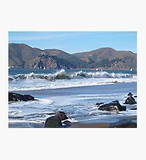 Crisp San Francisco Waves Photographic Print