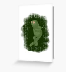 It Ain't Easy Being Green Greeting Card