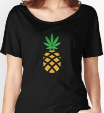 Pineapple Weed Shirt and Merchandise Women's Relaxed Fit T-Shirt