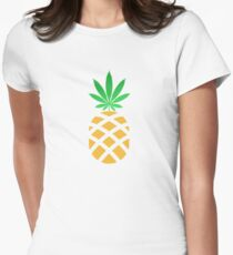 Pineapple Weed Shirt and Merchandise Womens Fitted T-Shirt