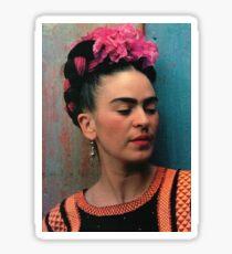 frida kahlo photograph Sticker