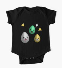 Kawaii Easter eggs One Piece - Short Sleeve