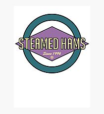 Fat Steamed Hams (Skinner Edition) Photographic Print