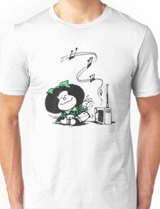 Mafalda Music Unisex T-Shirt