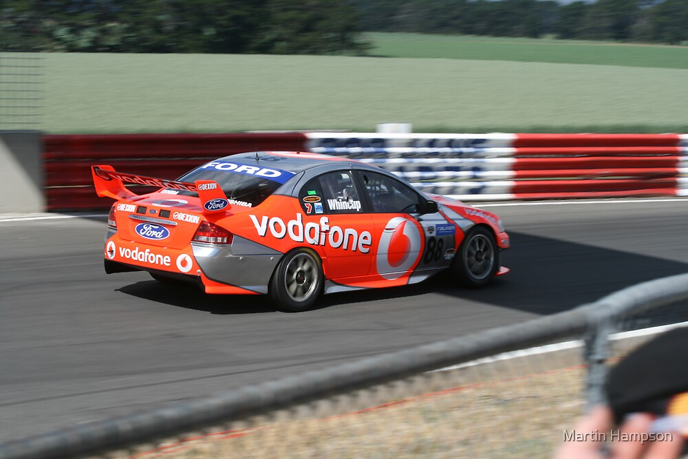 Jamie Whincup by Martin Hampson