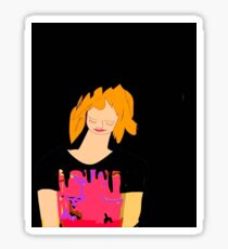 Carrot Top by, Mickeys Art And Design.Biz Sticker