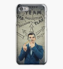 Business man thoughts iPhone Case/Skin
