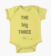 This is us- The big three One Piece - Short Sleeve