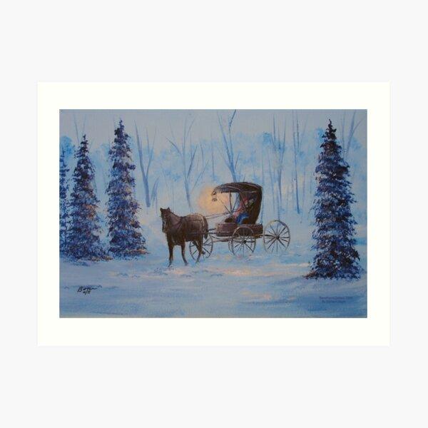 Carrage Ride Home Art Print