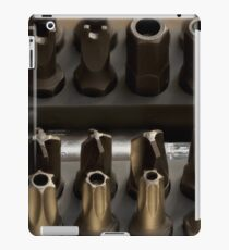 screwdriver bits iPad Case/Skin
