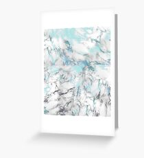 Sea of Marble with Faint Scales Greeting Card