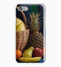 basket full fruit still-life   iPhone Case/Skin