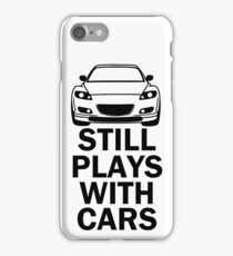 Still plays with cars - rx8 iPhone Case/Skin