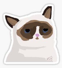 Grumpy Cat Stickers Sticker