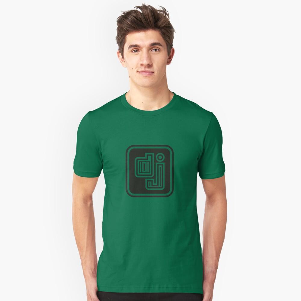 D-J Unisex T-Shirt Front